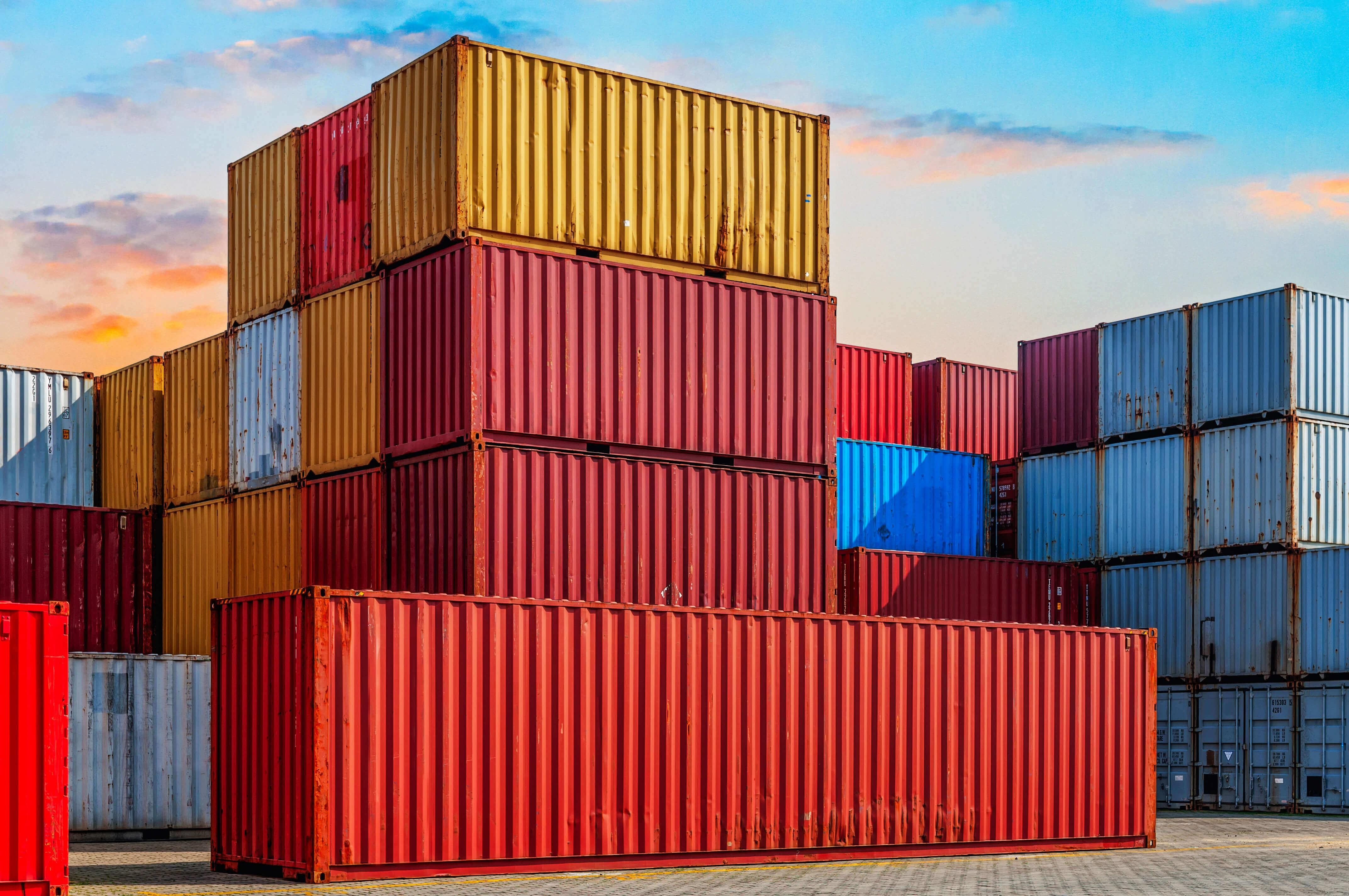 Основные контейнерные линии